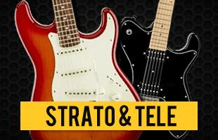 Guitarra Strato e Tele