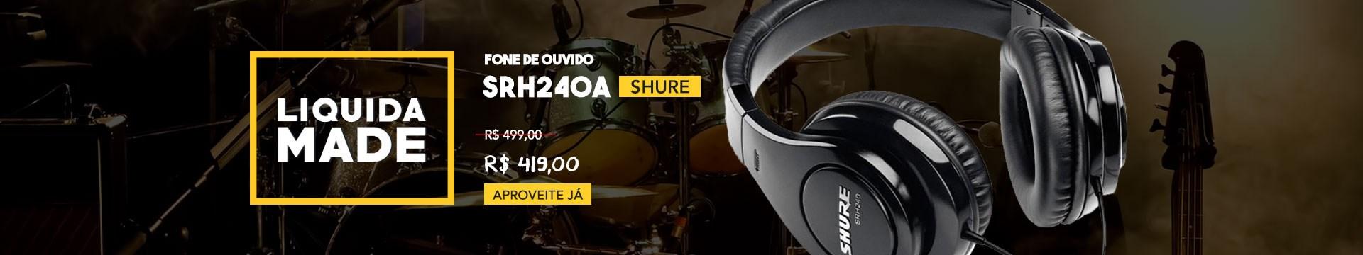 Liquida Shure Sr240