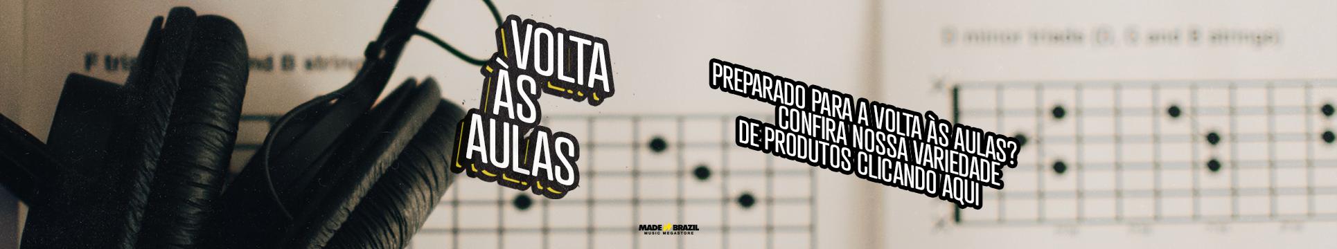 Volta às Aulas l Made in Brazil Music Megastore