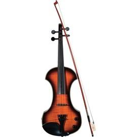 0030-232 Violino Fv-3 Eletrificado C/ Case Brown Sunburst Fender