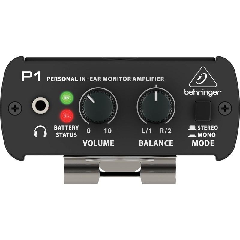 008598 Amplificador de Fone In-ear Powerplay P1 Behringer