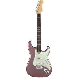 0119000766 Guitarra Fender American Deluxe Stratocaster - Burgundy Mist Metallic (766)