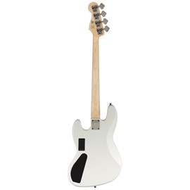 0370450505 CONTRABAIXO CONTEMPORARY ACTIVE JAZZ BASS HH MN Squier By Fender - Branco (Flat White) (5