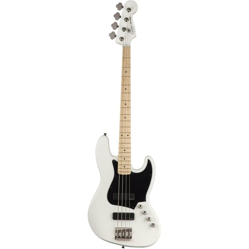 0370450505 CONTRABAIXO CONTEMPORARY ACTIVE JAZZ BASS HH MN Squier By Fender - Branco (Flat White) (5
