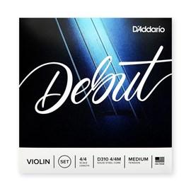 31398 - CORDA PARA VIOLINO DEBUT 4/4 D-310 D'Addario
