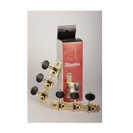 9489-tarraxa para Violão Nylon Nº3 Dourada Envelhecido Alhambra Alhambra