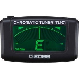Afinador Cromatico TU01 Boss - Preto (BK)
