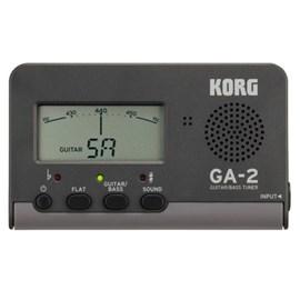 Afinador Digital para Guitarra e Baixo GA-2 Korg