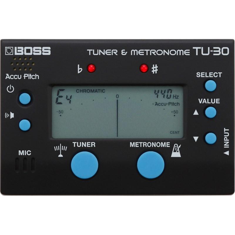 Afinador e Metronomo TU30 Boss - Preto (BK)