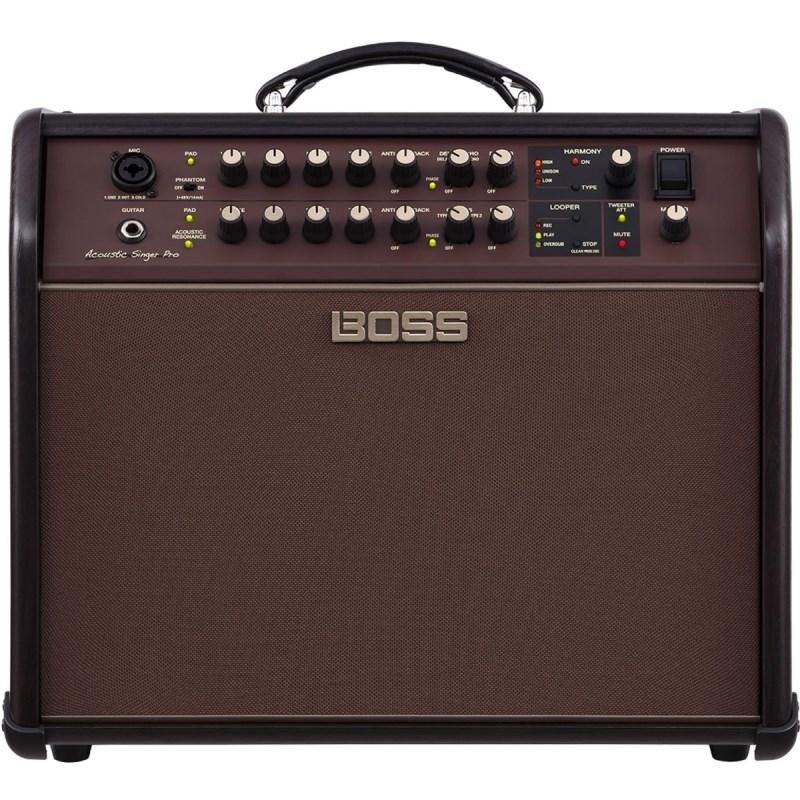 Amplificador Acoustic Singer Pro para Voz e Violão 120w Acs Pro Boss