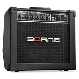 Amplificador Borne para Baixo Impact Bass Preto Cb60 (20w) Borne