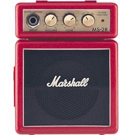 Amplificador Marshall Mini Amp Ms-2r-e Red para Guitarra Marshall