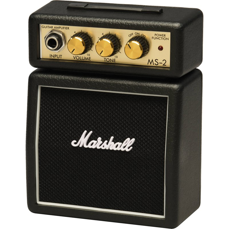 Amplificador Marshall Ms-2 Mini Amp Black Marshall