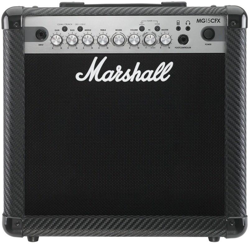 Amplificador Mg-15cfx Carbon Fibre Marshall para Guitarra Marshall