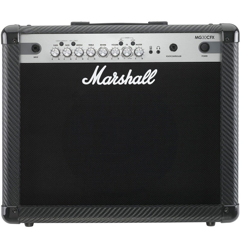 Amplificador Mg-30cfx Carbon Fibre Marshall para Guitarra Marshall