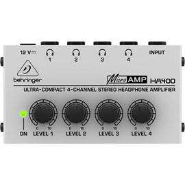 Amplificador para Fone Ha400 4 Canais 02720 Behringer