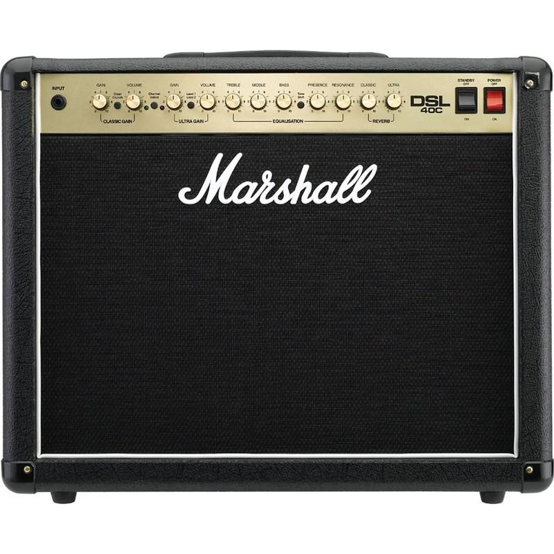 Amplificador para Guitarra 40w Marshall Dsl-40c Marshall