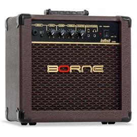 Amplificador para Violão Infinit Marrom Cv60 (15w) Borne