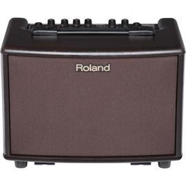 Amplificador Roland AC-33  Acoustic Chorus para Violão e Voz Roland - Marrom (Rosewood) (RW)