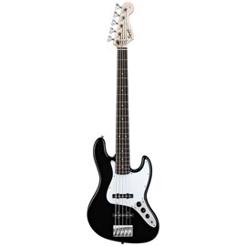 Baixo 5 Cordas Affinity J Bass V 0301575506 Squier By Fender Squier By Fender - Preto (Black) (506)