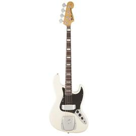 Baixo Fender 4c '74 American Vintage Jazz Bass® Rw Com Hard Case Standard Fender - Branco (Olympic W