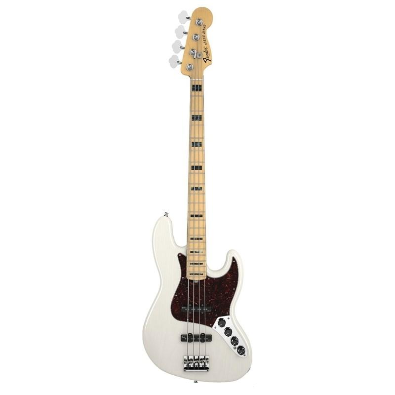 Baixo Fender 4c American Deluxe Jazz Bass® Ash Fender - Branco (White Blonde) (01)