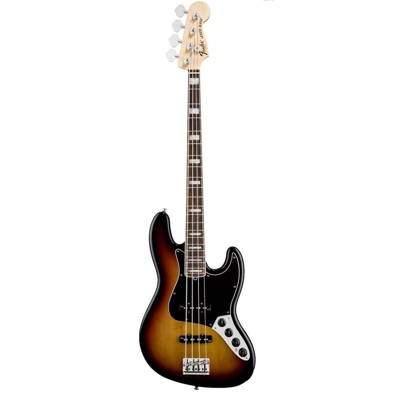 Baixo Fender 4c American Deluxe Jazz Bass® Fender - Sunburst (3-color Sunburst) (500)