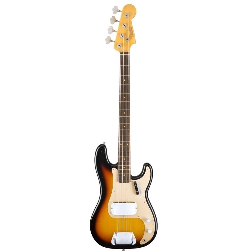 Baixo Fender 4c Ltd 59 Journeyman Relic Precision Bass® Fender - Sunburst (SB)