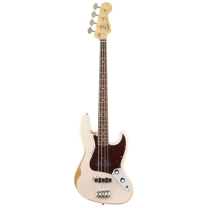 Baixo Fender Flea Jazz Bass Signature Séries Fender - Rosa (Shell Pink) (356)