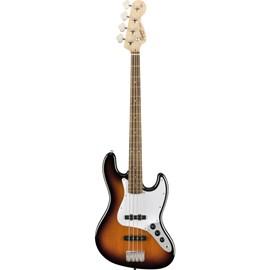 Baixo SQ AFF J Bass LRL BSB Squier By Fender - Sunburst (Brown Sunburst) (532)