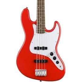 Baixo SQ AFF J Bass LRL RCR 0370760570 Squier By Fender - Vermelho (Racing Red) (570)