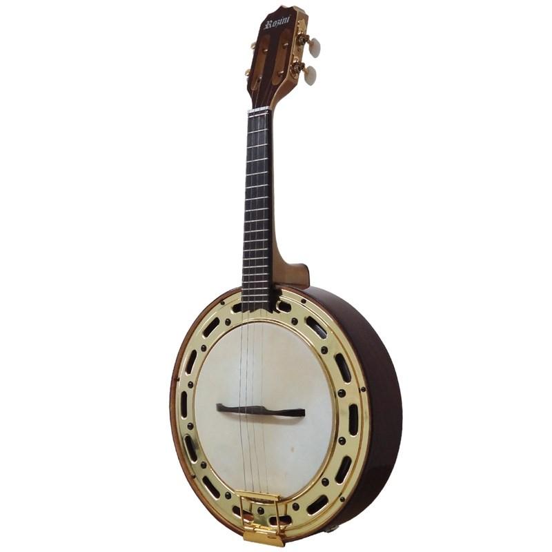 Banjo Profissonal Rozini El Rj-12 Eln Rozini - Jacaranda (NTJ)
