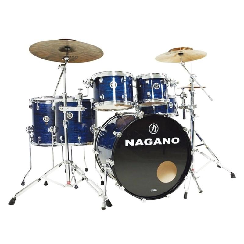 BATERIA CONCERT FULL CELULLOID BB Nagano - Brooklin Blue (BB)