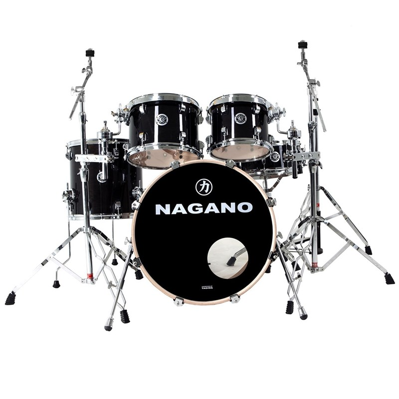 Bateria Concert Traditional Lacquer Nagano - Black Mist (BM)