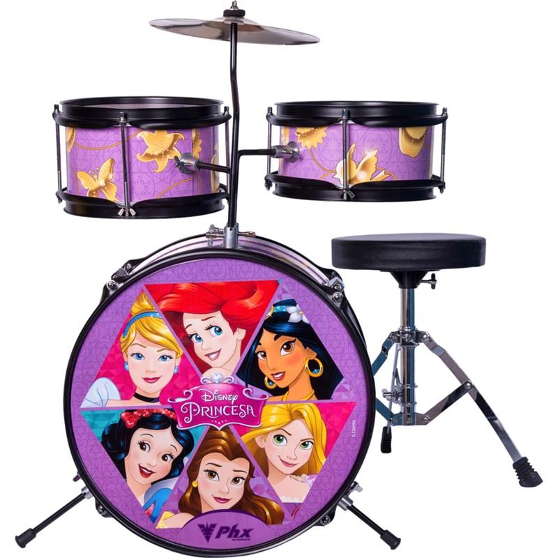 Bateria  Disney Infantil Princesas Bid-p1 Phx