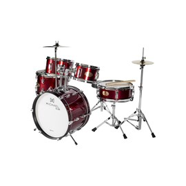 Bateria Infantil Club MDMC5 WR Michael - Vinho (Wine Red) (WR)