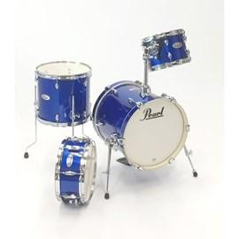 "BATERIA MIDTOWN MDT764P 16""10""13""13"" #717 HIGH VOLTAGE BLUE Pearl"