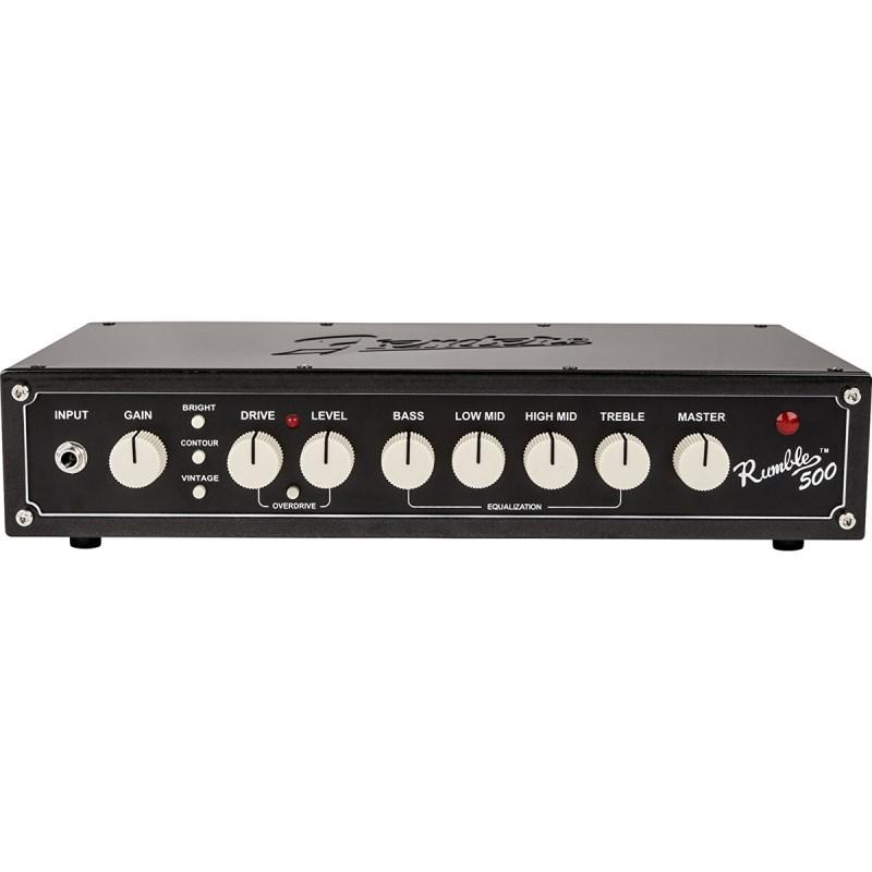 Cabeçote para Contrabaixo Rumble 500 Head V3 Fender