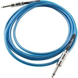 Cabo para Instrumento P10 Reto-P10 Reto California Séries 3,05m Fender - Azul (Lake Placid Blue) (LP