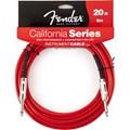 Cabo para Instrumento P10 Reto-P10 Reto California Séries 6,10m Fender - Vermelho (Candy Apple) (CA)