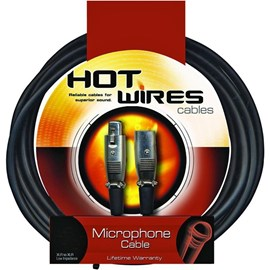 Cabo para Microfone XLR-XLR MC12-20 6,10m Hot Wires Cables