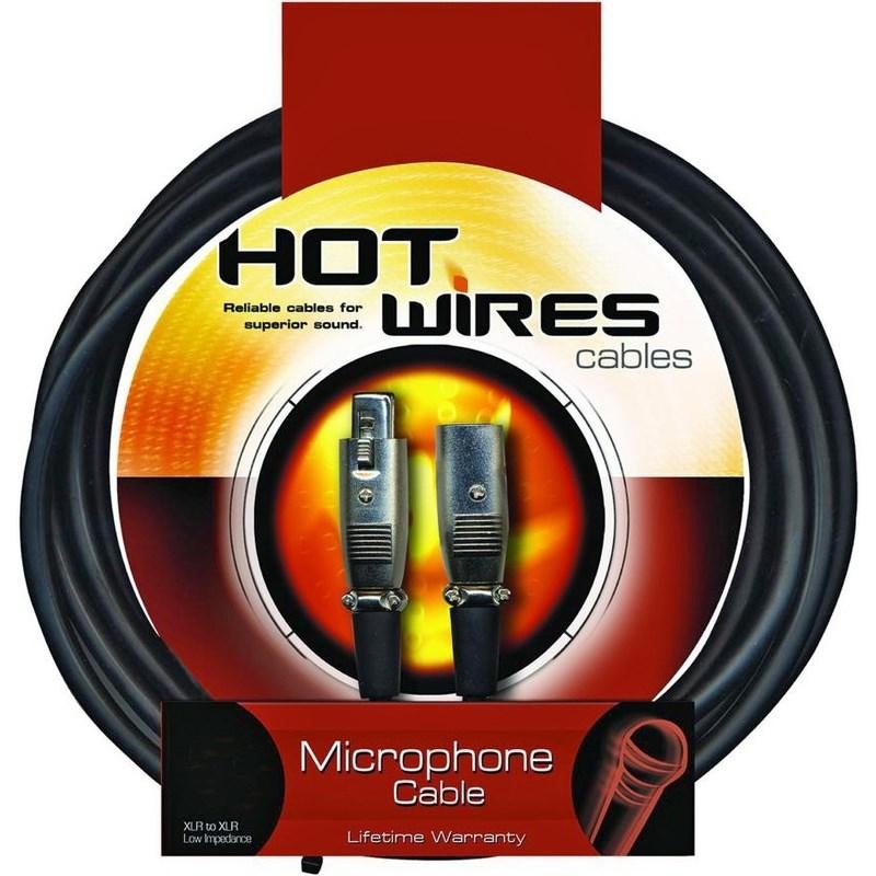 Cabo para Microfone XLR-XLR MC12-20 6,10m Hot Wires Cables