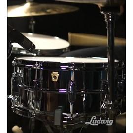 "Caixa 6 1/2x14"" Lm402 Supraphonic Metal Ludwig"