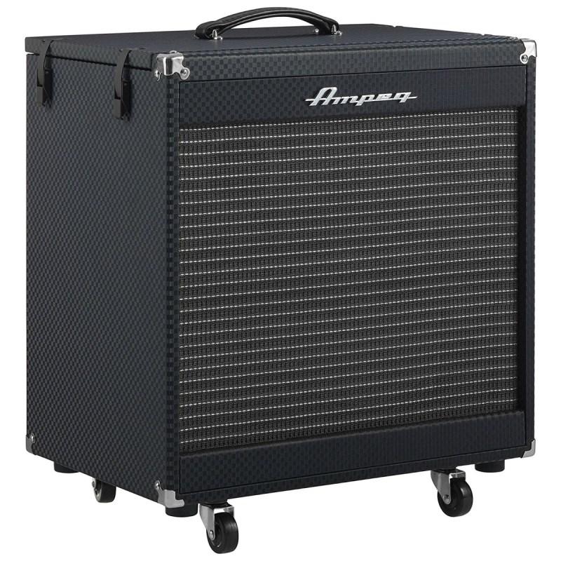 """Caixa Acústica para Contrabaixo PF210HE 2×10"""" com 450 watts Ampeg"""