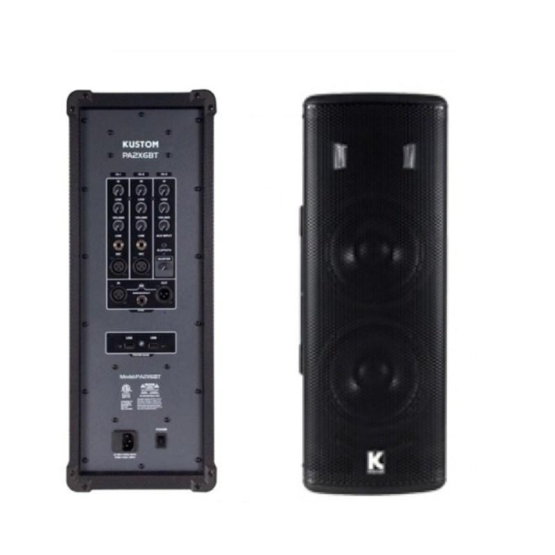 Caixa de Som Ativa  PA2X6BT 200 Watts Kustom