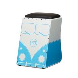 Cajon Elétrico Inclinado Limited Series V-DUB Azul FLS02 FSA