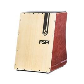 Cajon Elétrico Inclinado Standard Séries Mogno Fs2503 FSA