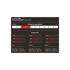 Captador Custom Shop ´54 Stratocaster Unitário Ponte Fender