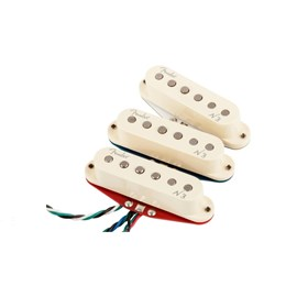 Captador para Guitarra Strat N3 Noiseless - Set 3 White Fender