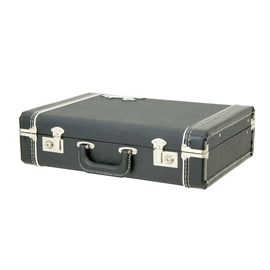 "Case Deluxe Fender Briefcase 5"" - Black Fender"